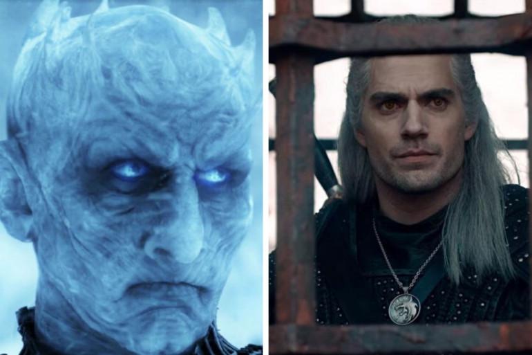 Le Roi de la Nuit et Geralt de Riv