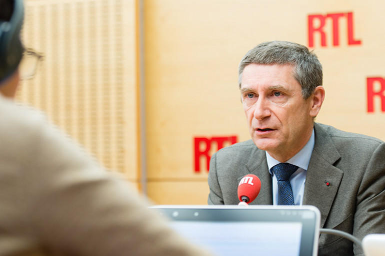 Frédéric Péchenard, invité de RTL le 29 avril 2016