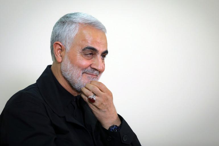 Le général Qassem Soleimani, le 1er octobre 2019 (illustration)