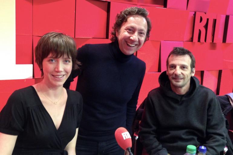 Sara Giraudeau, Mathieu Kassovitz et Stéphane Bern
