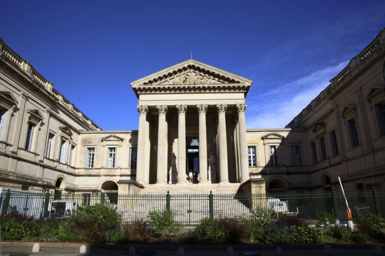 Le palais de justice, à Montpellier, en 2016. (Illustration)