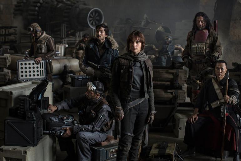 """Les héros de """"Star Wars : Rogue One"""""""