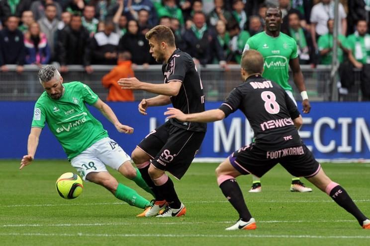Toulouse n'a pu faire mieux que 0-0 à Saint-Etienne