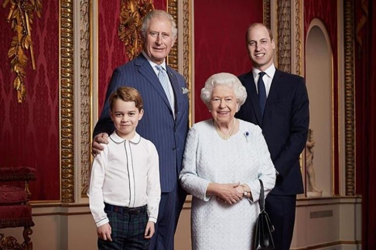 Un nouveau portrait pour la famille royale Britannique