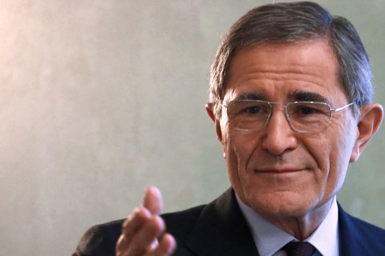 Gérard Mestrallet, ancien patron de GDF Suez, en 2012