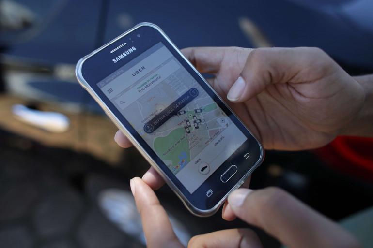 L'application Uber donne des gages aux chauffeurs
