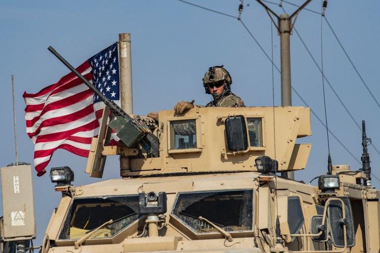 Des soldats américains en Irak en octobre 2019