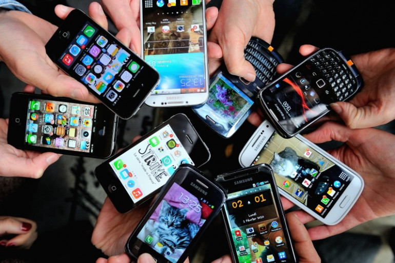 Des smartphones (illustration)