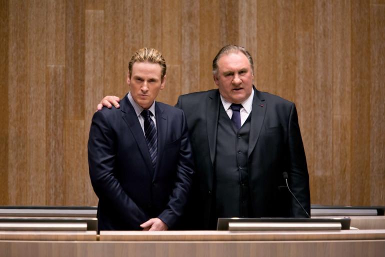 """Gérard Depardieu et Benoit Magimel dans """"Marseille"""""""