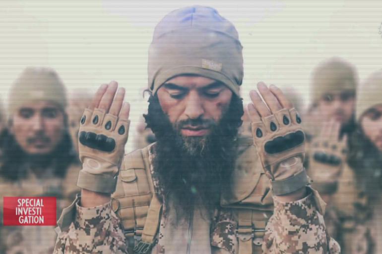 """Image de propagande de l'État islamique diffusée dans """"Soldat d'Allah"""", un documentaire au cœur d'une cellule jihadiste"""
