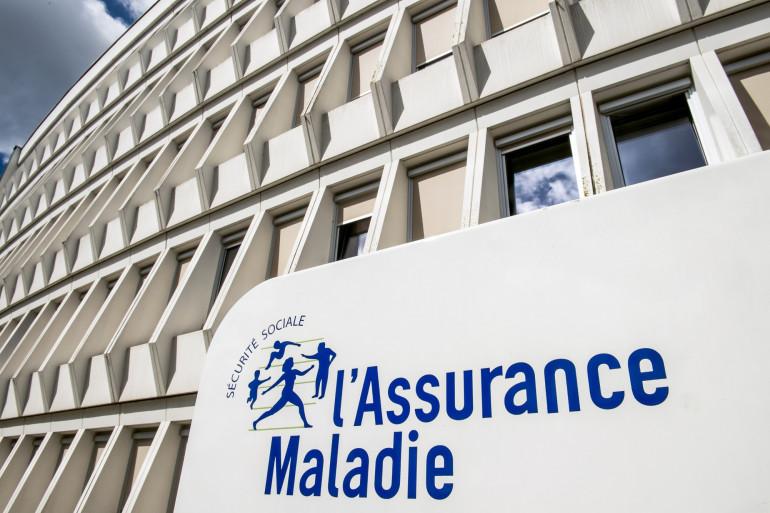 Le bâtiment de l'Assurance maladie à Arras (Illustration)
