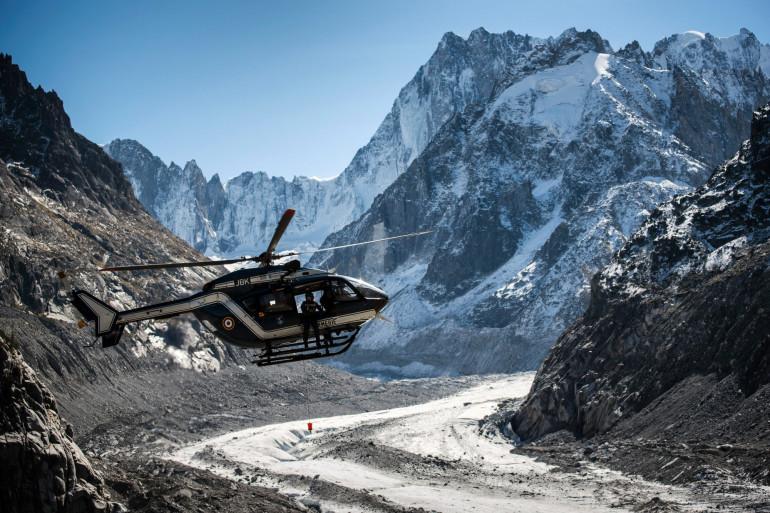 Le peloton de gendarmerie de haute montagne (PGHM) intervient auprès de victimes en milieu périlleux. (Illustration)