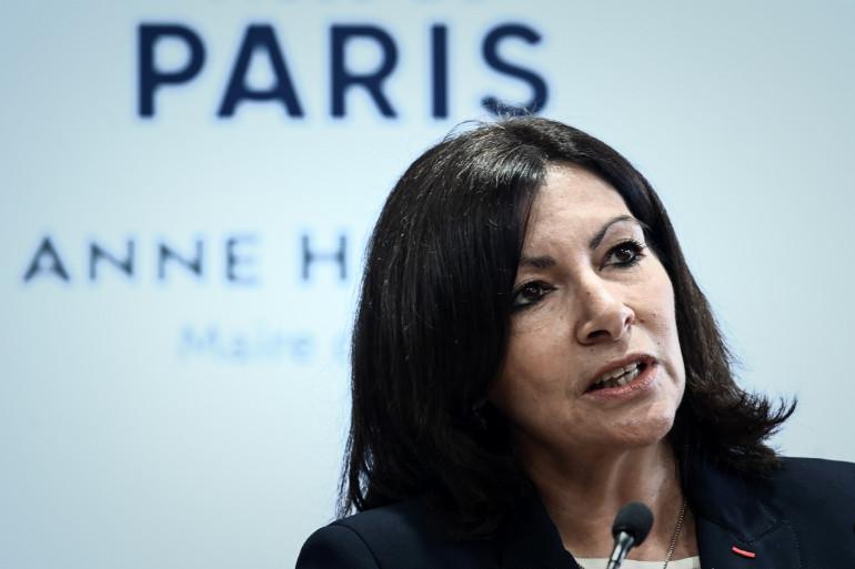 La maire de Paris Anne Hidalgo, le 21 mars 2019.