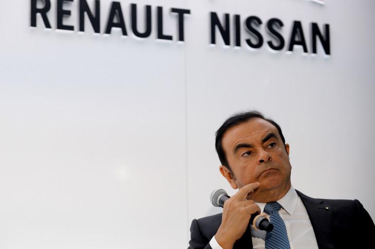 Carlos Ghosn, l'ex-patron de Renault-Nissan