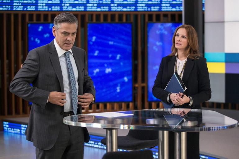 """George Clooney et Julia Roberts sont à l'affiche de """"Money Monster"""", de Jodie Foster"""