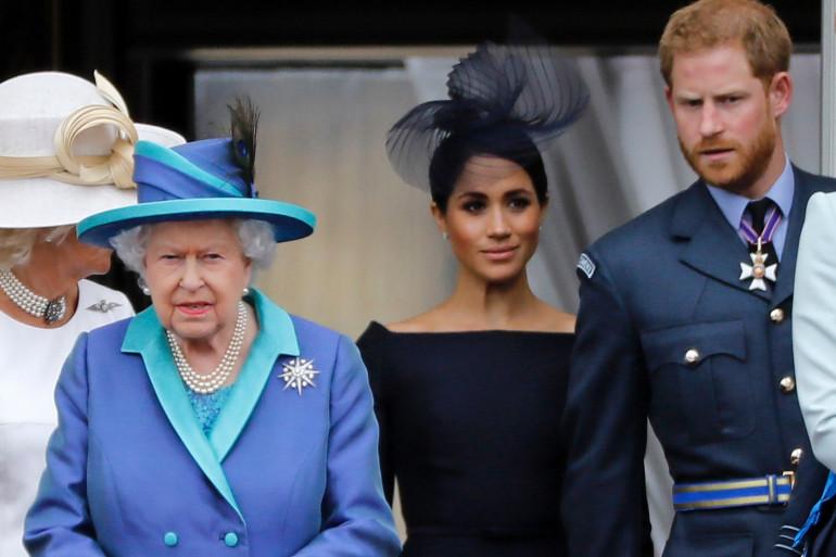 La famille royale britannique, le 10 juillet 2018