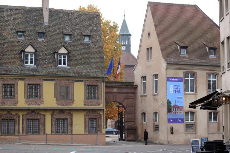 Les locaux de l'ENA, à Strasbourg