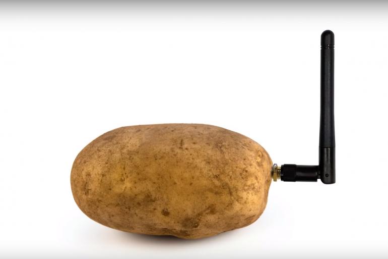 La patate connectée