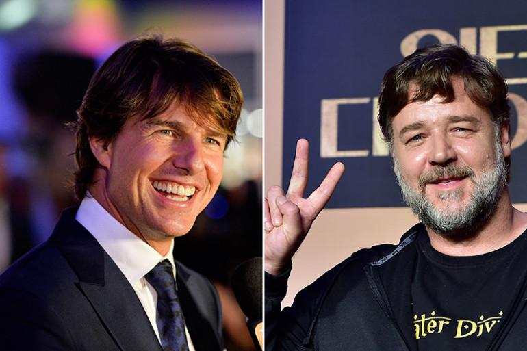 """Russel Crowe a rejoint Tom Cruise au casting de """"La Momie"""""""