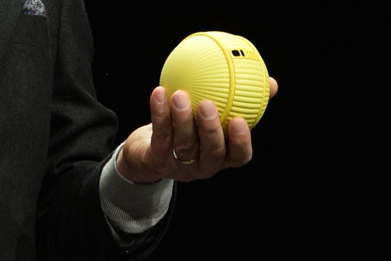Samsung a présenté un un robot compagnon en forme de balle de tennis au CES 2020