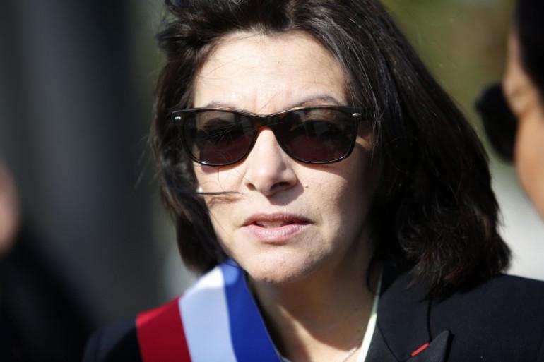 Anne Hidalgo à Paris, le 8 mai 2016.