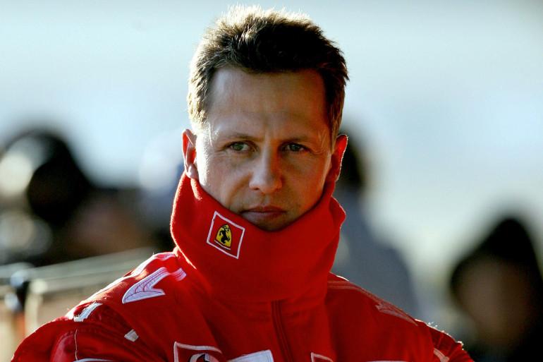 Michael Schumacher, avec les couleurs de Ferrari avant son accident de décembre 2013