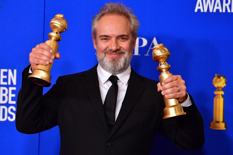 Le réalisateur Sam Mendes aux Golden Globes 2020
