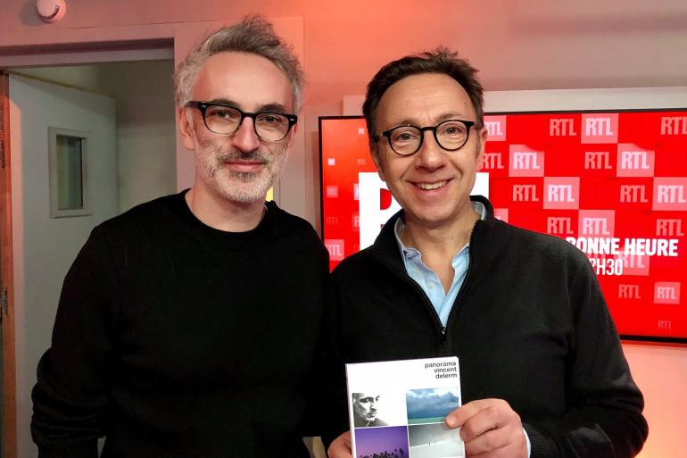Vincent Delerm et Stéphane Bern