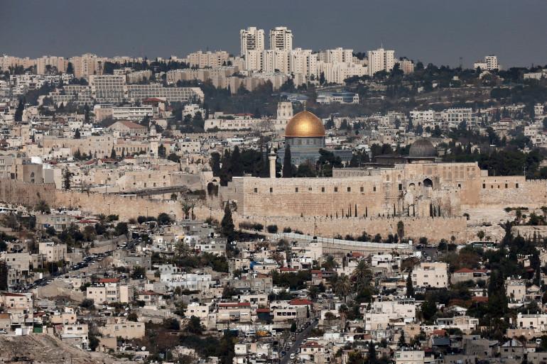 Vue générale de Jérusalem, le 21 novembre 2014 (archives)