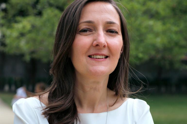 Karine Berger, députée PS des Hautes-Alpes