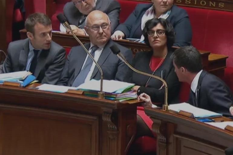 Manuel Valls tance Emmanuel Macron à l'Assemblée nationale