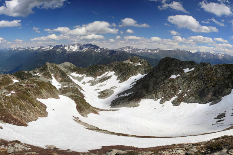 Le massif de Belledonne, en Isère