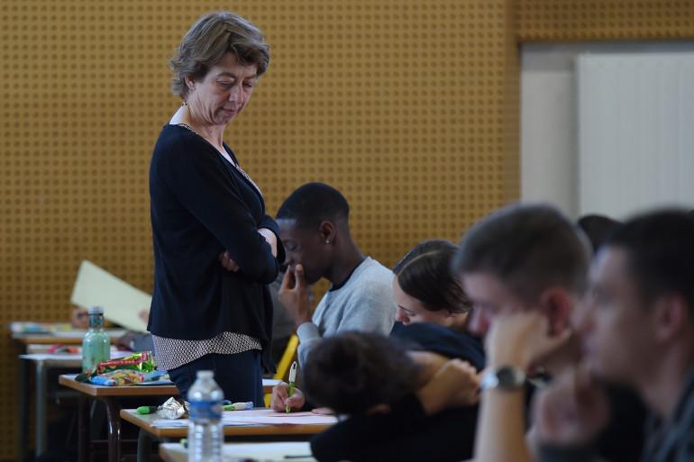 Une épreuve surveillée du baccalauréat 2019.