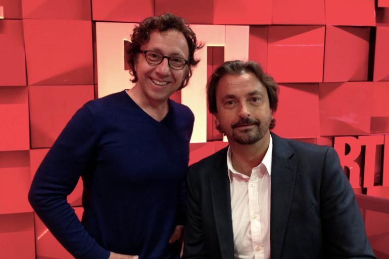 Stéphane Bern et Henri Leconte