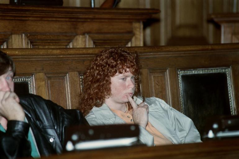 Murielle Bolle au procès de Jean-Marie Villemin le 3 novembre 1993
