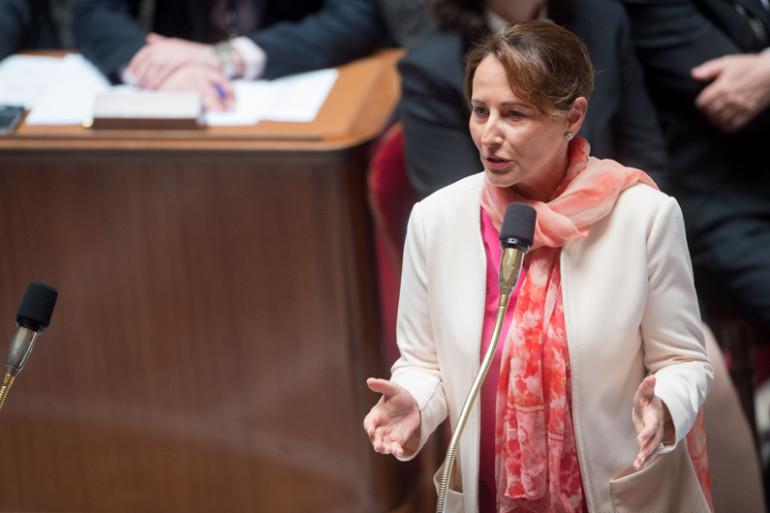 Ségolène Royal à l'Assemblée nationale, le 10 mai 2016