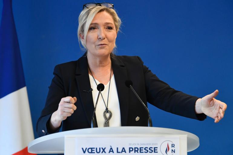 Marine Le Pen, le 16 janvier 2020