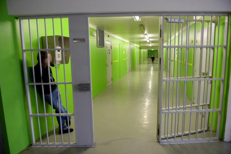 Un détenu dans une prison (Illustration).