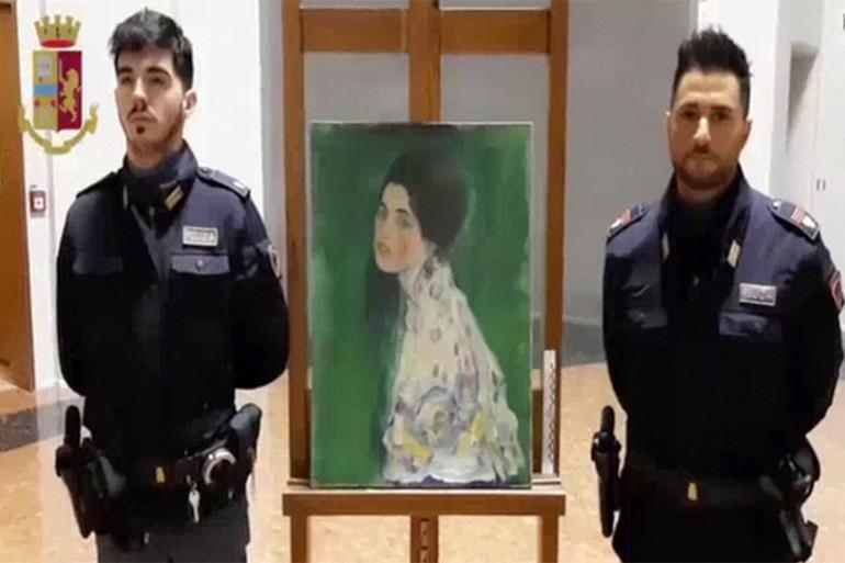 La toile du peintre autrichien avait été dérobée il y a 20 ans