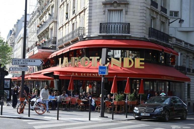 Le restaurant La Rotonde, à Paris (illustration)