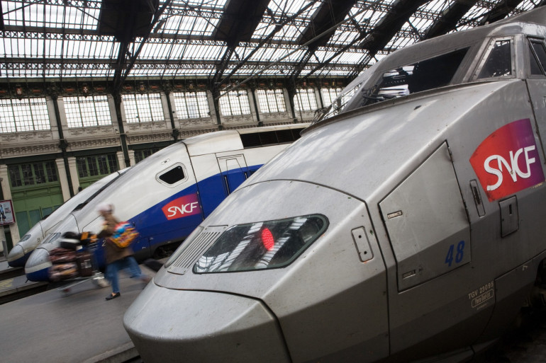 Des TGV à quai (illustration).