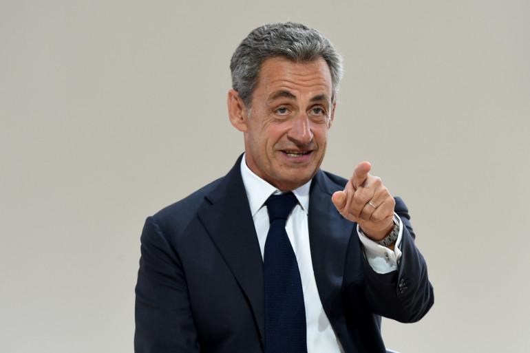 Nicolas Sarkozy, le 29 août 2019