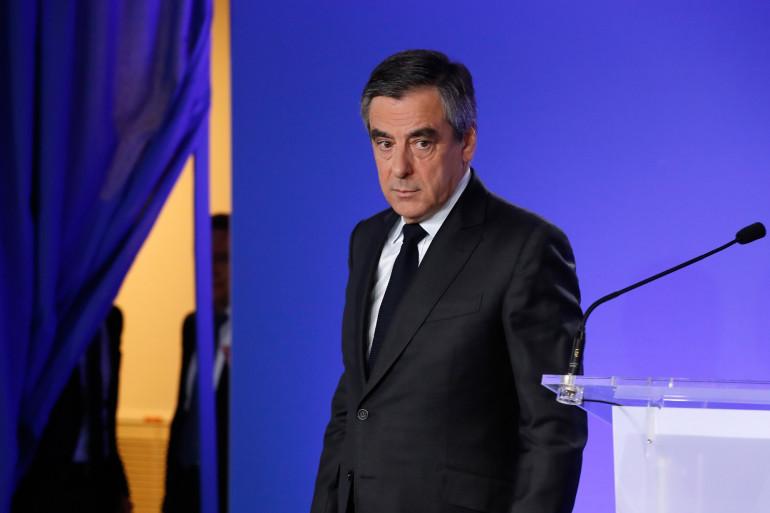 François Fillon le 21 avril 2017 à Paris