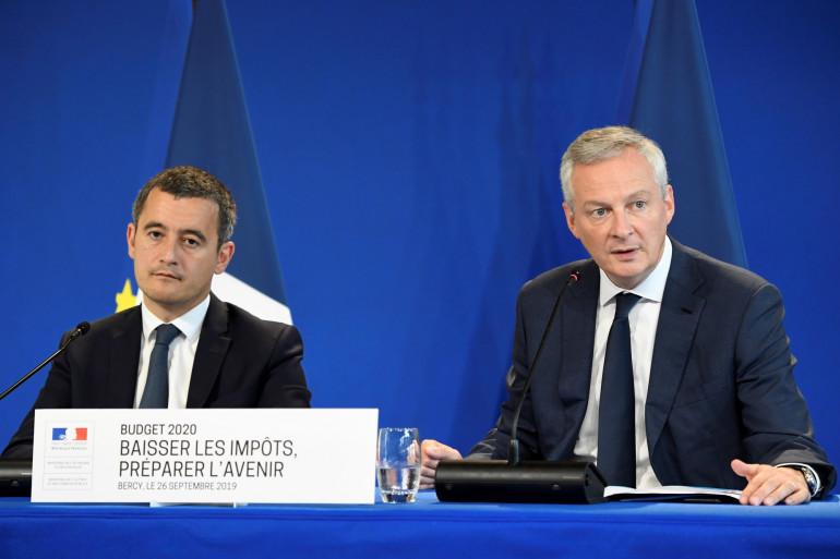 Gérald Darmanin et Bruno Le Maire, le 26 septembre 2019