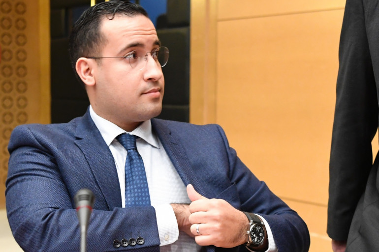 Alexandre Benalla, au Sénat, le 21 janvier 2019