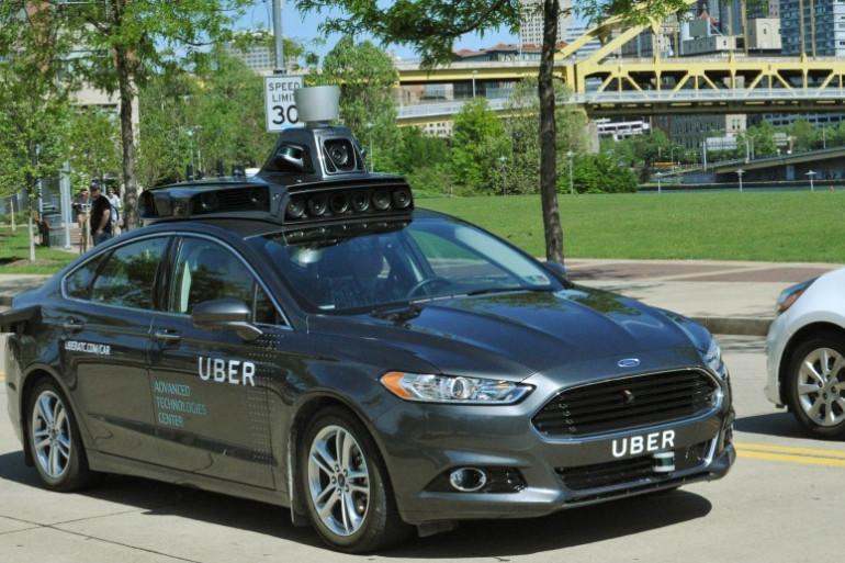 Uber teste une voiture autonome dans les rues de Pittsburgh