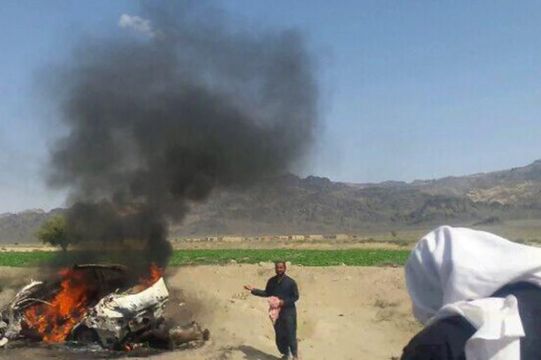 Le mollah Mansour a été tué par une frappe de drones américains le 21 mars 2016