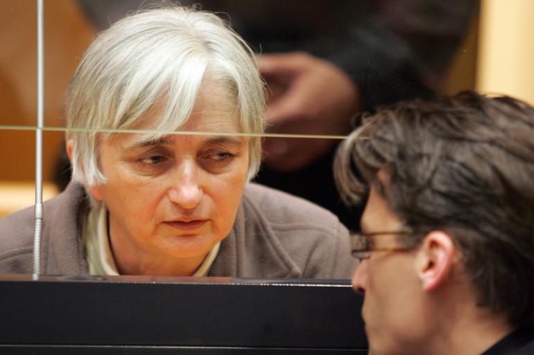 Monique Olivier lors de son procès à Charleville-Mezière, le 29 mai 2008.