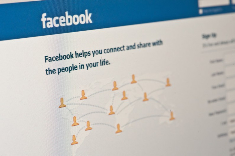 Le réseau social Facebook (image d'illustration).