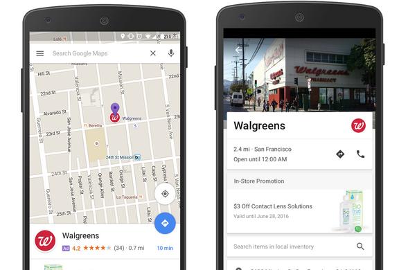 Google Maps dit bonjour à la publicité